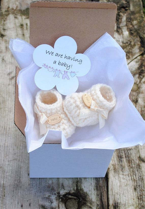 Best ideas about Baby Announcement Gift Ideas . Save or Pin 25 best ideas about Unique Baby Announcement on Pinterest Now.