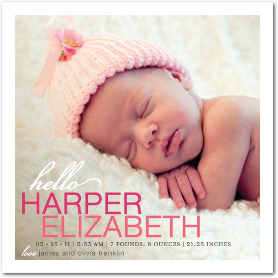 Best ideas about Baby Announcement Gift Ideas . Save or Pin Birth Announcement Ideas Now.