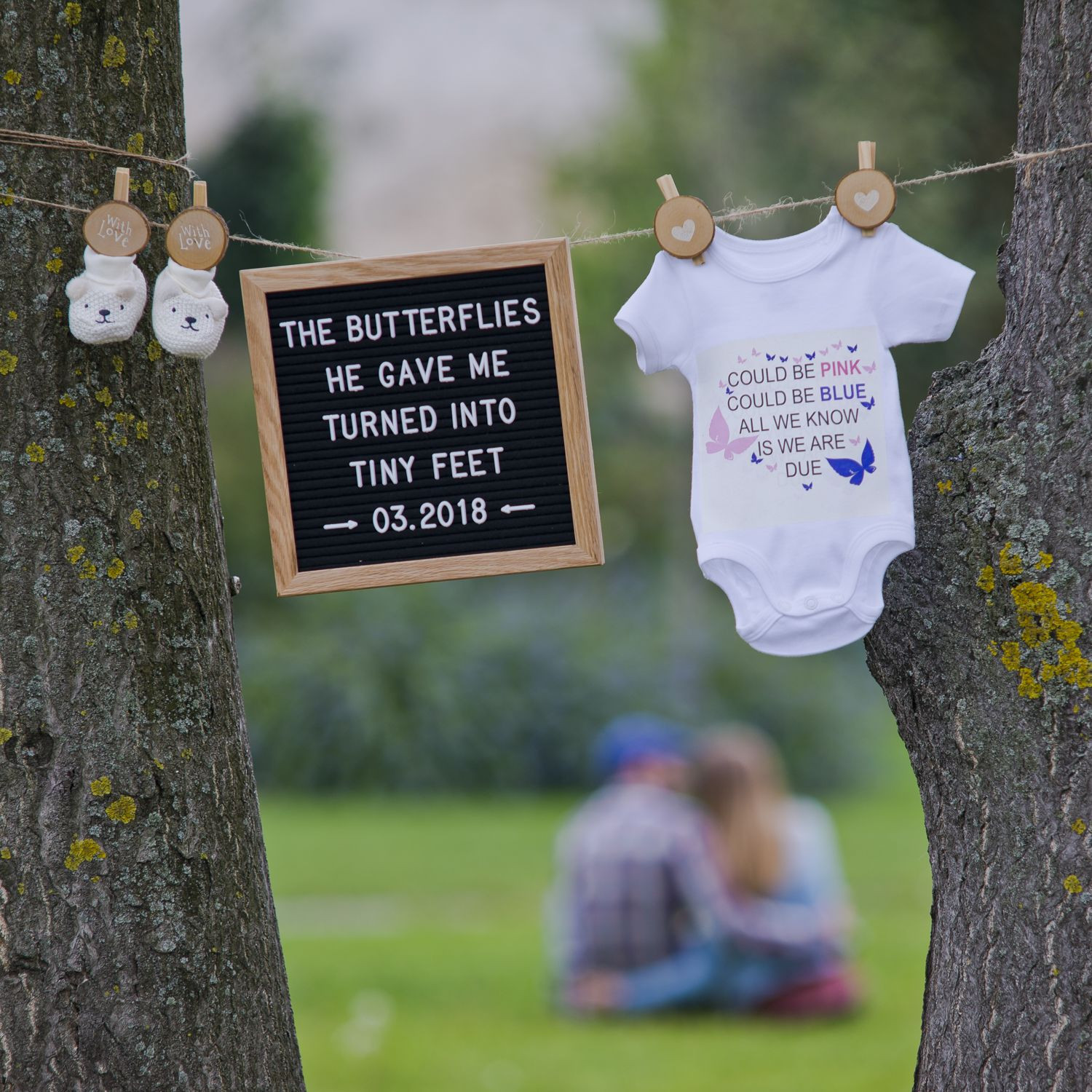 """Best ideas about Baby Announcement Gift Ideas . Save or Pin Cool and creative baby announcement idea using our 10"""" x Now."""