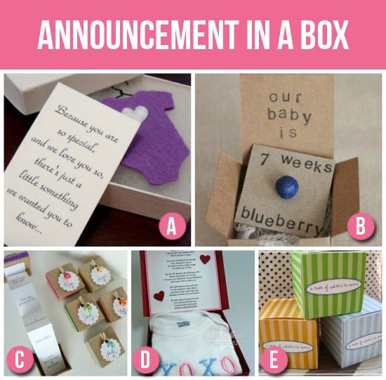 Best ideas about Baby Announcements Gift Ideas . Save or Pin 50 Creative Pregnancy Announcements Now.