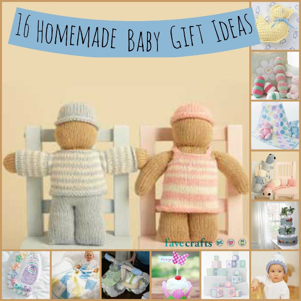 Best ideas about Baby Arrival Gift Ideas . Save or Pin 16 Homemade Baby Gift Ideas Now.