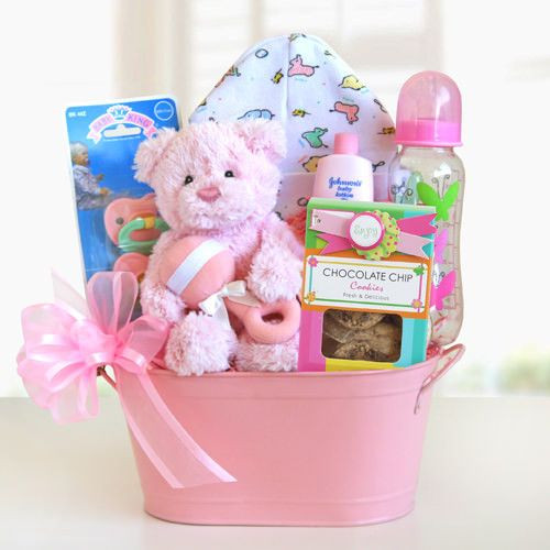 Best ideas about Baby Arrival Gift Ideas . Save or Pin 25 best ideas about Girl t baskets on Pinterest Now.