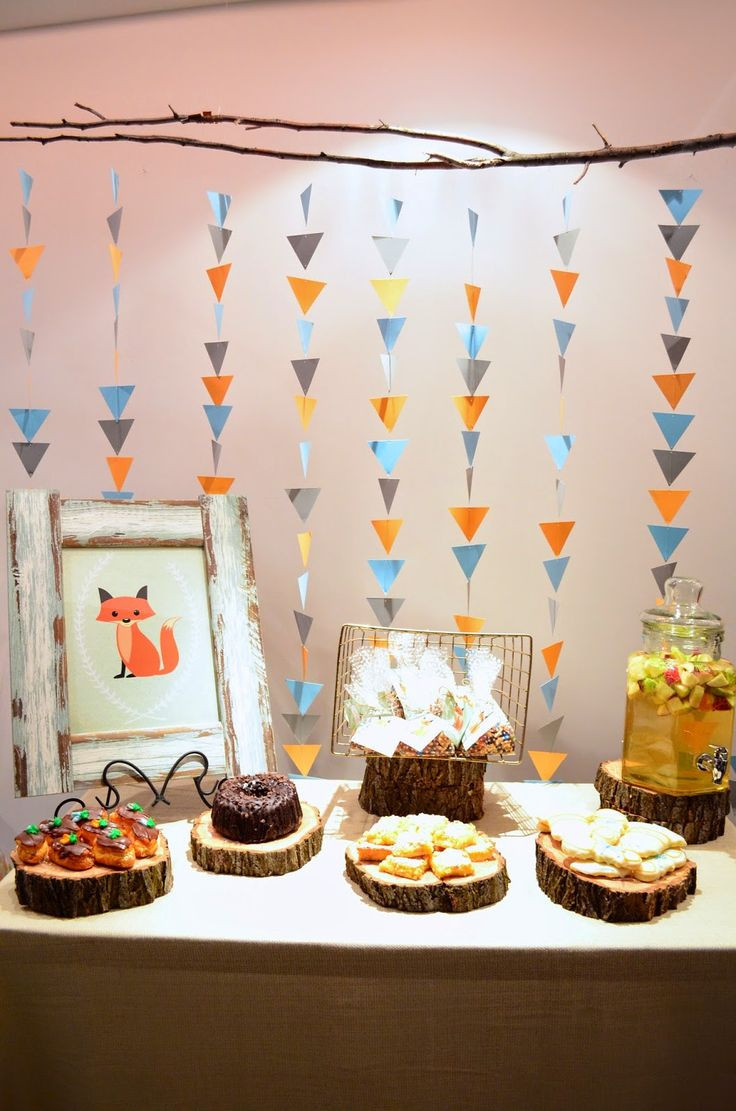 Best ideas about Baby Birthday Decorations . Save or Pin Best 25 Woodland party ideas on Pinterest Now.