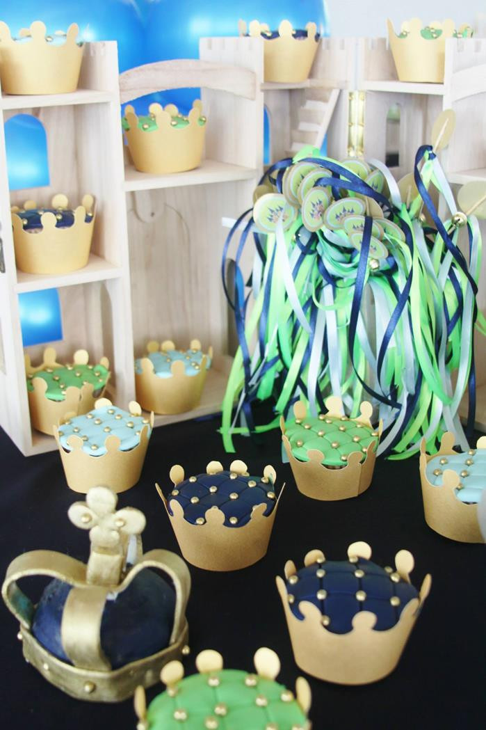 Best ideas about Baby Birthday Decorations . Save or Pin Kara s Party Ideas Little Prince Baby Shower Party Now.