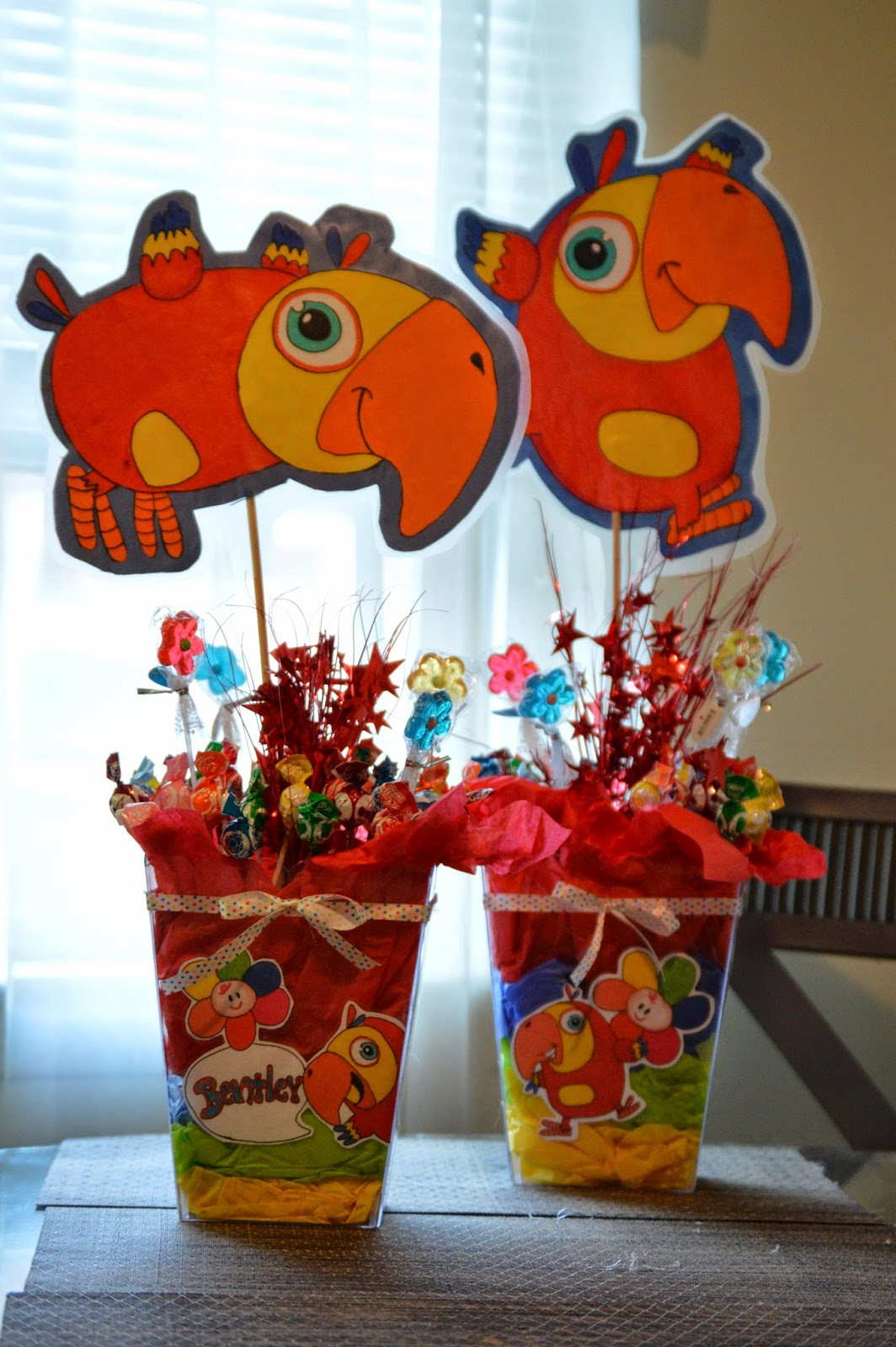 Best ideas about Baby Birthday Decorations . Save or Pin Bri s Party Creations VocabuLarry Themed First Birthday Now.