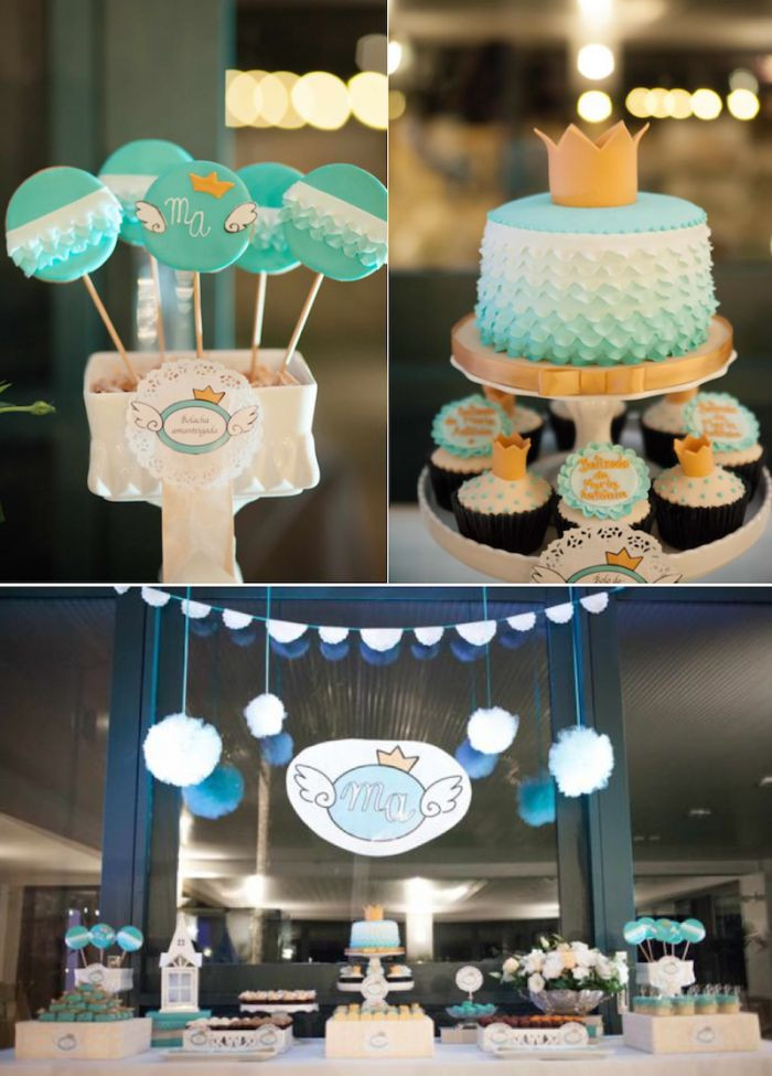 Best ideas about Baby Birthday Decorations . Save or Pin 49 best images about Royal 1st Birthday Ideas on Pinterest Now.