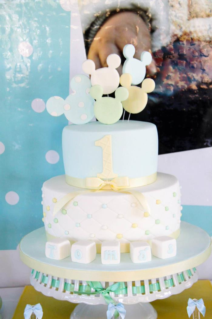 Best ideas about Baby Birthday Decorations . Save or Pin Kara s Party Ideas Baby Mickey Mouse Party with Lots of Now.