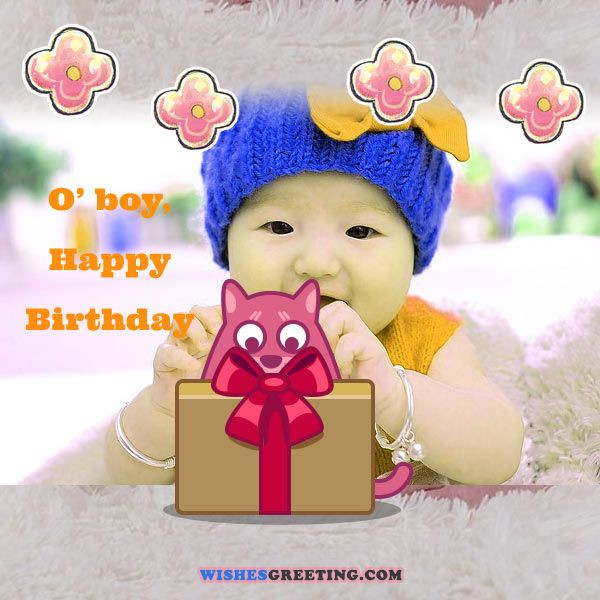 Best ideas about Baby Birthday Wishes . Save or Pin Happy Birthday Baby Wishes for a baby boy or girl Now.