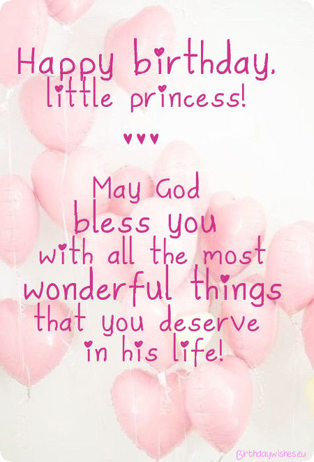 Best ideas about Baby Birthday Wishes . Save or Pin Happy Birthday Little Girl Now.