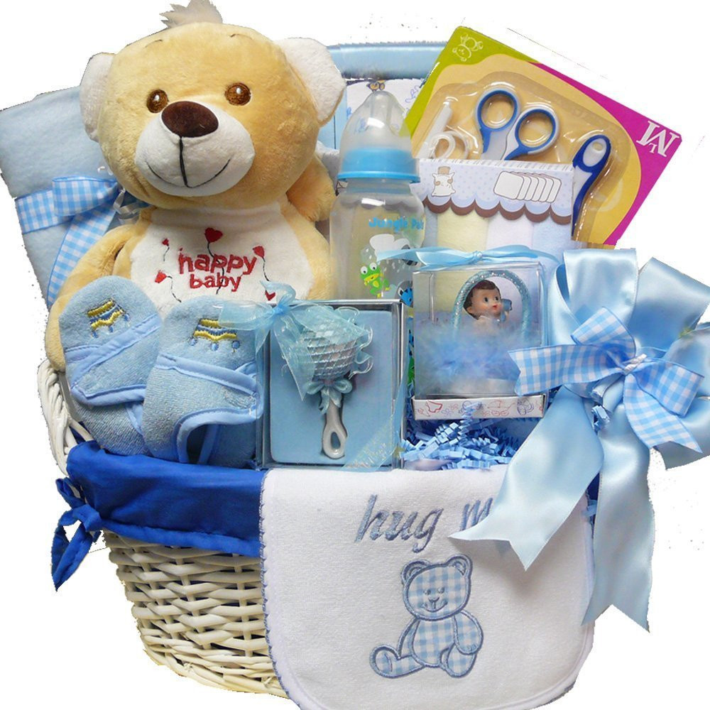 Best ideas about Baby Boy Gift Ideas . Save or Pin Gift Baskets For New Baby They Really Make A Wonderful Now.