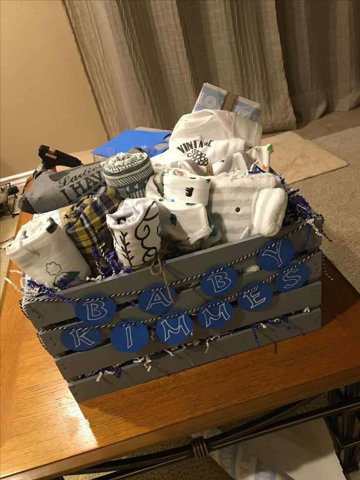 Best ideas about Baby Boy Gift Ideas . Save or Pin Best 25 Baby t baskets ideas on Pinterest Now.