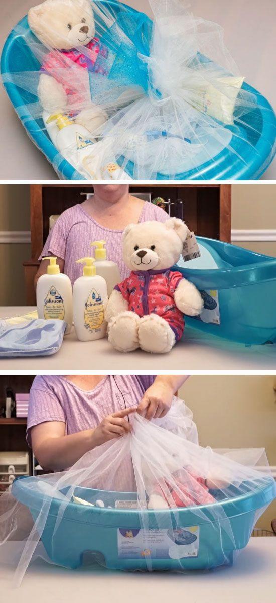 Best ideas about Baby Boy Shower Gift Ideas . Save or Pin DIY Baby Shower Gift Basket Ideas for Boys Now.