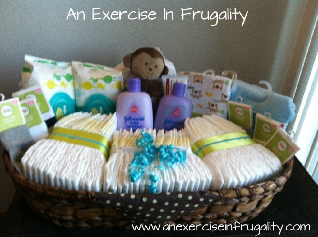 Best ideas about Baby Boy Shower Gift Ideas . Save or Pin Baby Shower Basket Gift Idea Now.