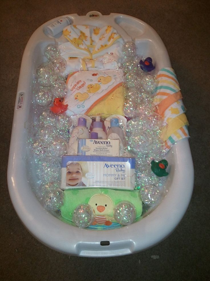 Best ideas about Baby Boy Shower Gift Ideas . Save or Pin Bath time t basket for baby shower Now.