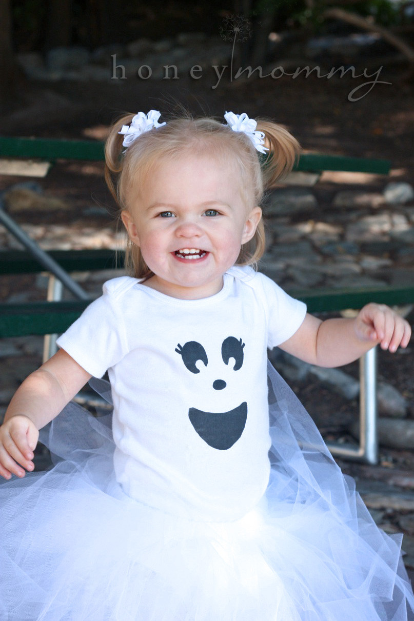 Best ideas about Baby Costume DIY . Save or Pin Honey Mommy DIY Easy Ghost Costumes Now.