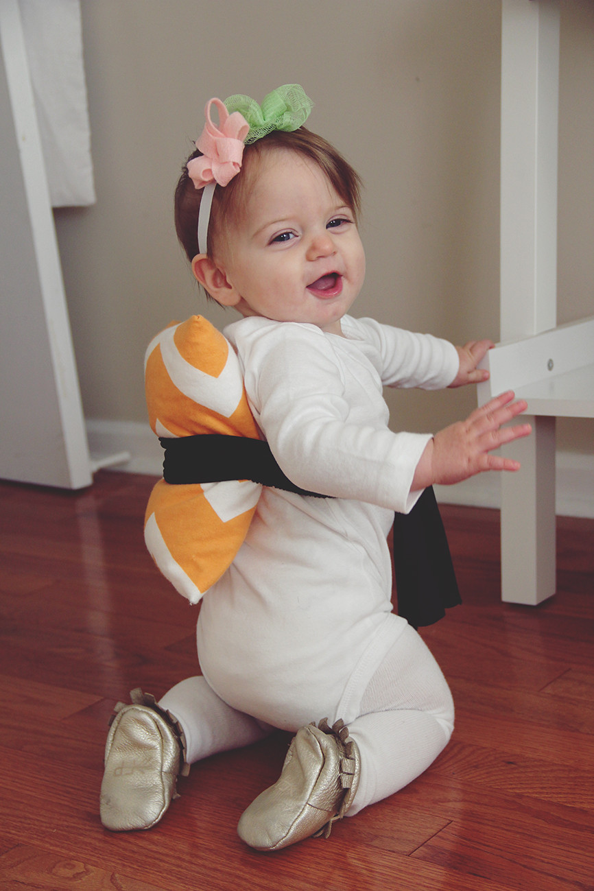 Best ideas about Baby Costume DIY . Save or Pin halloween costume DIY baby sushi – really risa Now.
