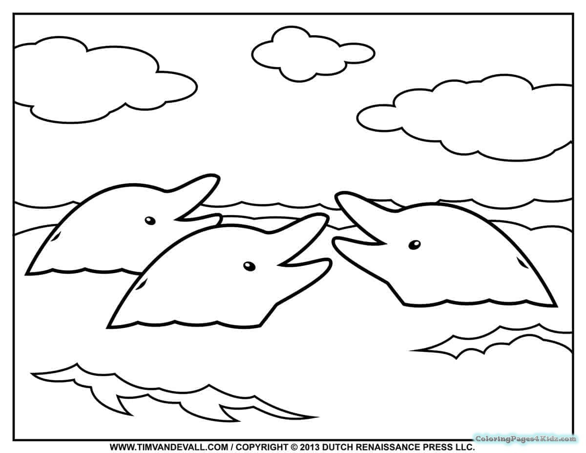 Best ideas about Baby Dolphin Coloring Pages For Kids . Save or Pin Baby Dolphin Coloring Pages Now.