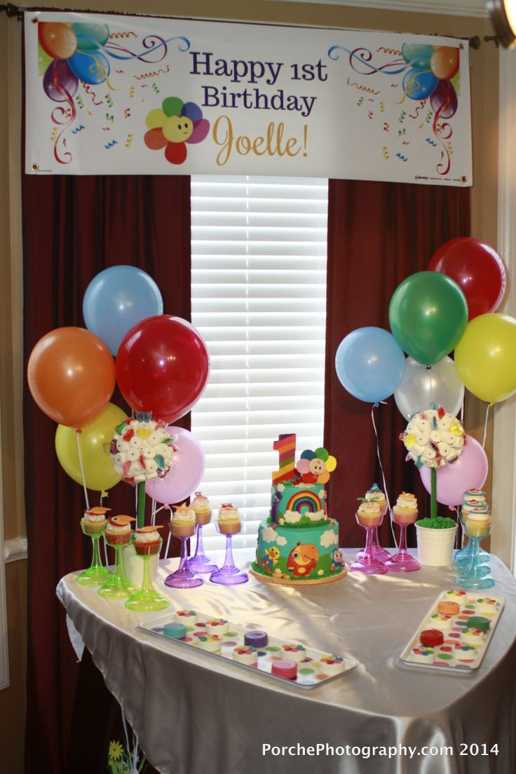 Best ideas about Baby First Birthday Decorations . Save or Pin 44 best images about Baby First TV birthday party on Now.