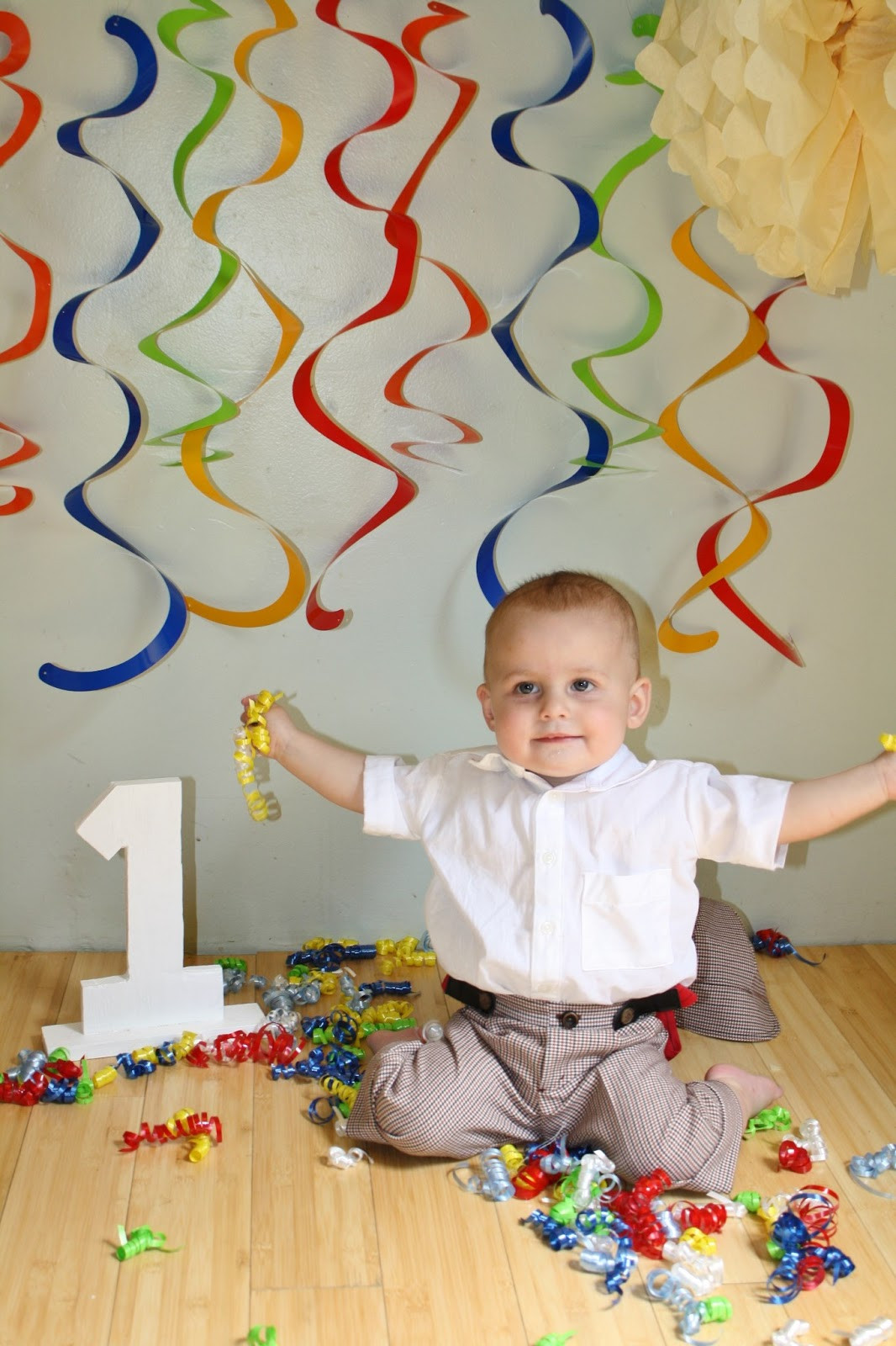 Best ideas about Baby First Birthday Decorations . Save or Pin Sweet Pea and Pumkins 1st Birthday Baby Boy and Party Now.