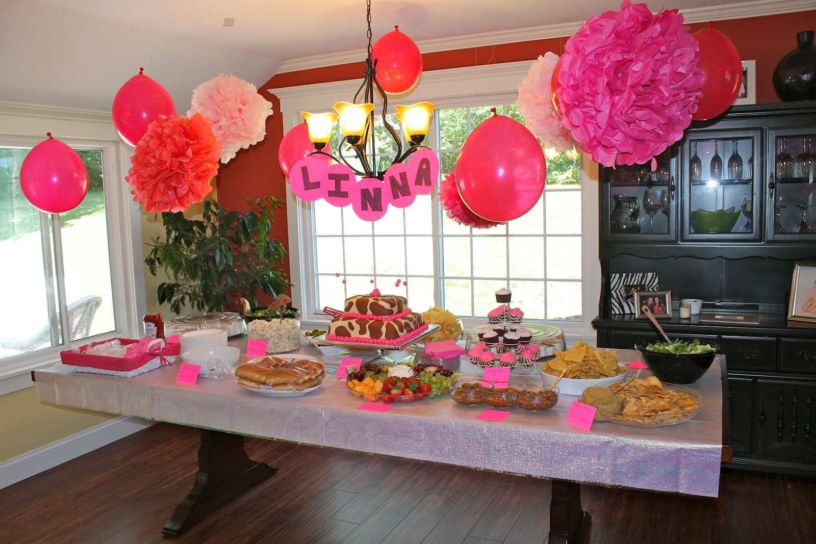Best ideas about Baby First Birthday Decorations . Save or Pin MINNESOTA BABY Linna s 1st birthday party Now.