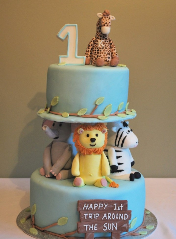 Best ideas about Baby First Birthday Gift Ideas Boy . Save or Pin 15 Baby Boy First Birthday Cake Ideas Now.