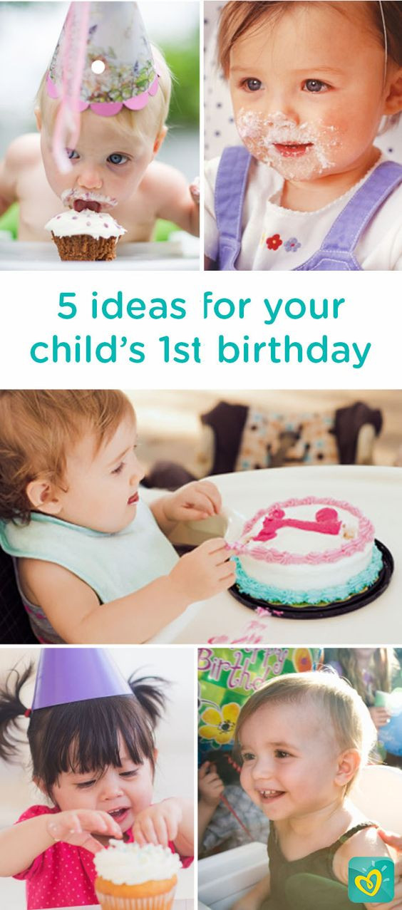Best ideas about Baby First Birthday Gift Ideas For Her . Save or Pin Here are 5 ideas for how to celebrate your baby's first Now.