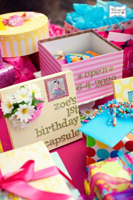 Best ideas about Baby First Birthday Gift Ideas For Her . Save or Pin Best 25 Time capsule birthday ideas on Pinterest Now.