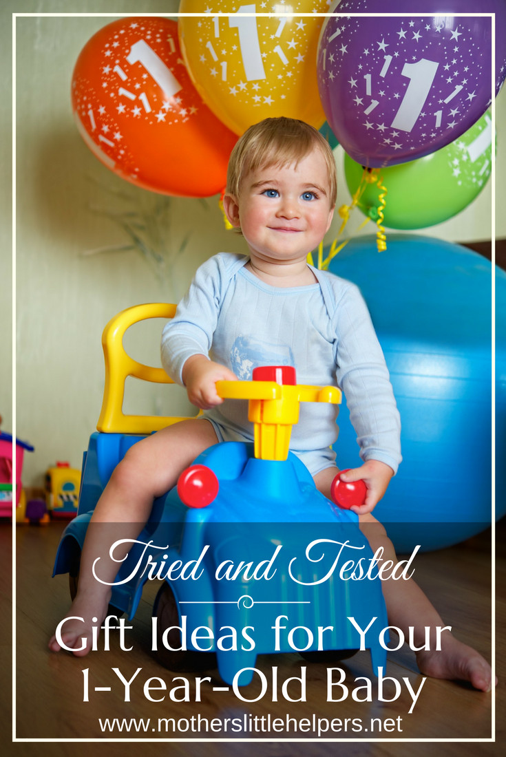 Best ideas about Baby First Birthday Gift Ideas For Her . Save or Pin Tried and Tested Gift Ideas for Your e Year Old Baby Now.