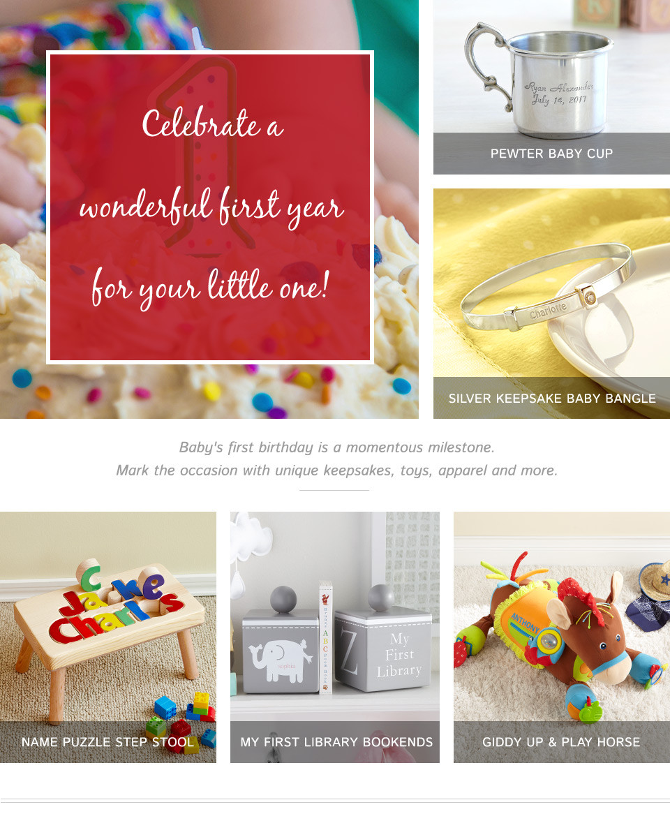 Best ideas about Baby First Birthday Gift Ideas For Her . Save or Pin First Birthday Gifts Now.
