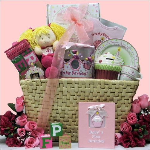 Best ideas about Baby First Birthday Gift Ideas For Her . Save or Pin Baby Girls 1st Birthday Help her celebrate her 1st Now.
