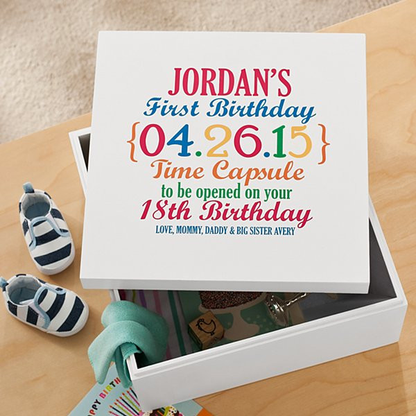 Best ideas about Baby First Birthday Gift Ideas For Her . Save or Pin Personalized 1st Birthday Gifts for Babies at Personal Now.