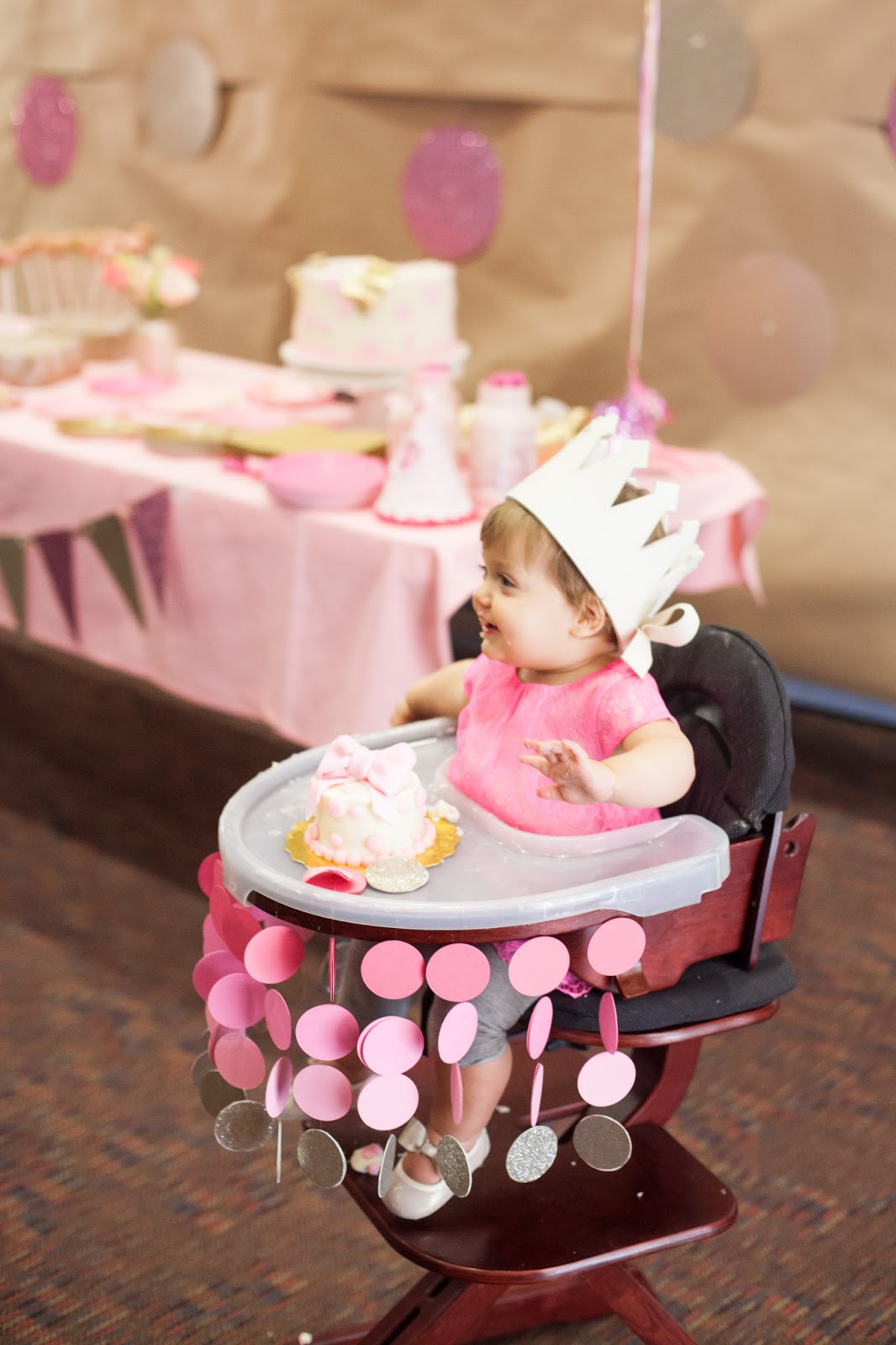 Best ideas about Baby First Birthday Party . Save or Pin Nat your average girl 1st birthday party decor Now.