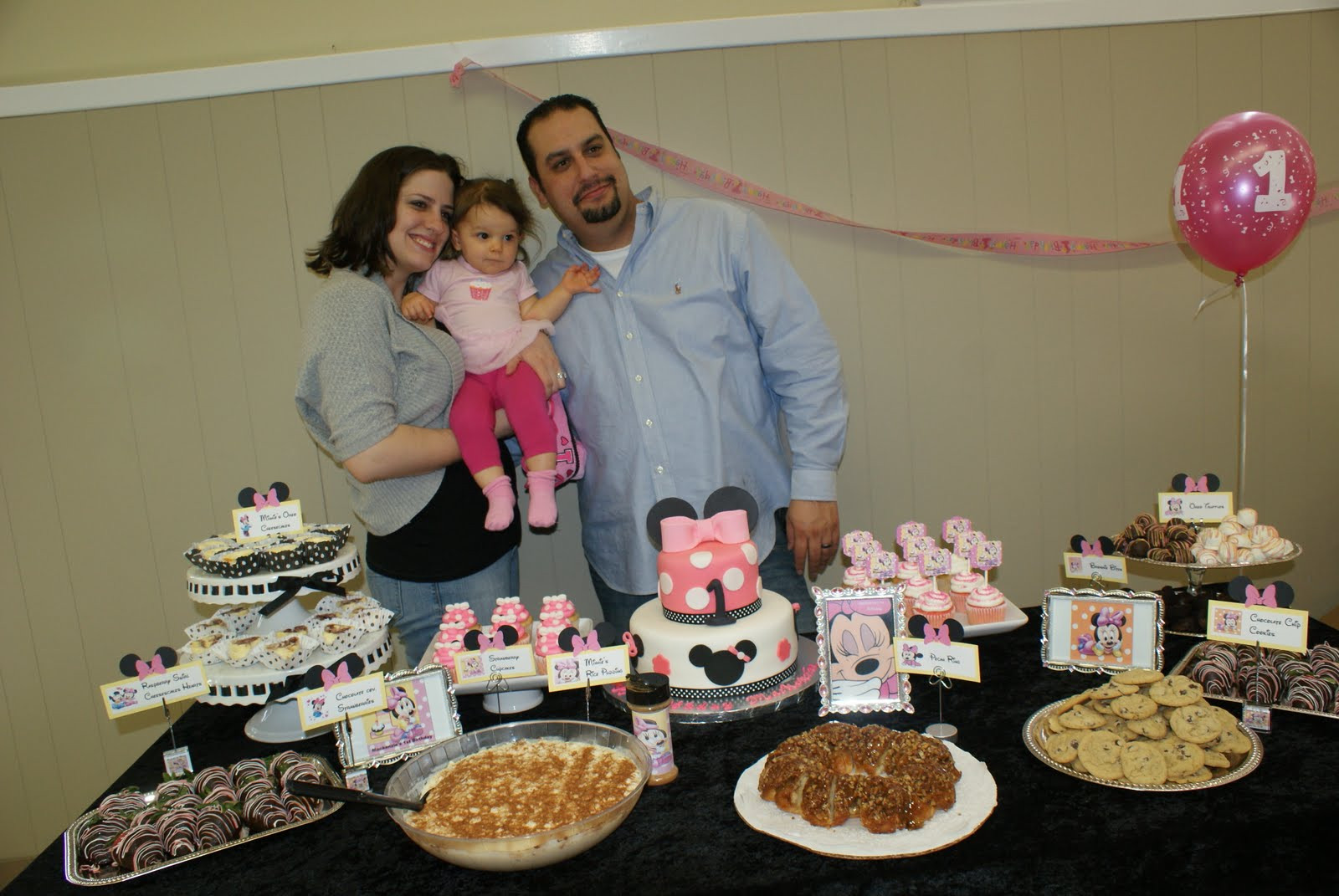 Best ideas about Baby First Birthday Party . Save or Pin Attention Cravers Baby s Minnie 1st Birthday Party Now.
