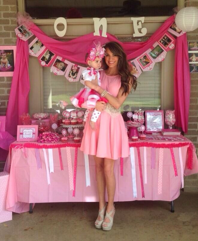 Best ideas about Baby Girl First Birthday Decorations . Save or Pin 1st Birthday Ideas My baby almost one time flies Now.
