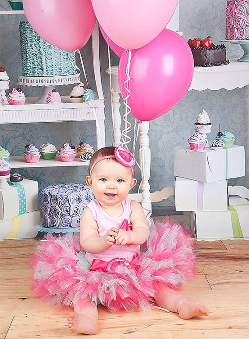 Best ideas about Baby Girl First Birthday Decorations . Save or Pin Perfect Birthday Dresses Ideas For Baby Girls & Kids 2014 Now.
