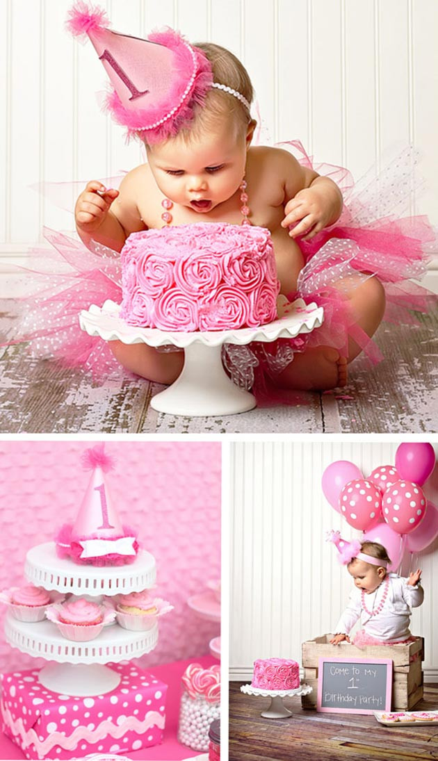 Best ideas about Baby Girl First Birthday Decorations . Save or Pin 10 Most Creative First Birthday Party Themes for Girls Now.