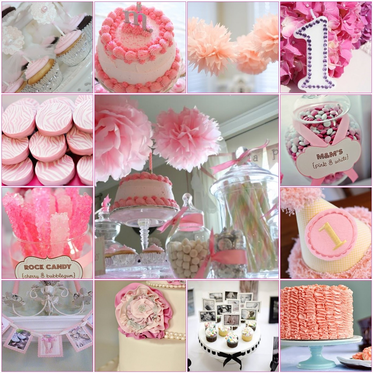 Best ideas about Baby Girl First Birthday Gift Ideas . Save or Pin Madly Stylish Events Sweet First Birthday Inspiration Now.