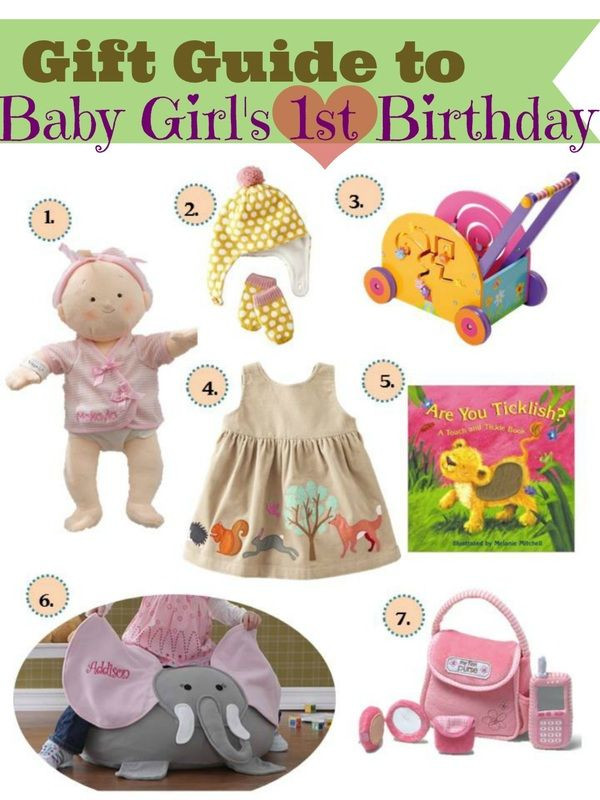 Best ideas about Baby Girl First Birthday Gift Ideas . Save or Pin Gift ideas for baby girls first birthday Now.