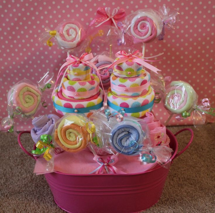 Best ideas about Baby Girl Gift Basket Ideas . Save or Pin 695 best images about Baby Shower Gifts Ideas on Pinterest Now.