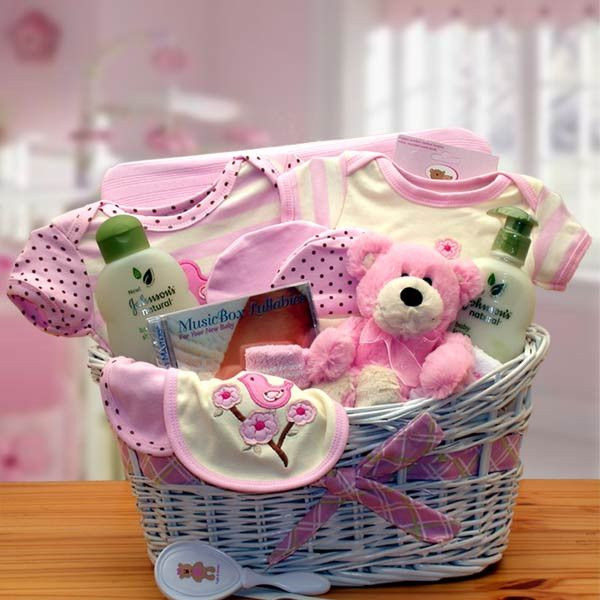 Best ideas about Baby Girl Gift Basket Ideas . Save or Pin 25 best ideas about Baby t baskets on Pinterest Now.