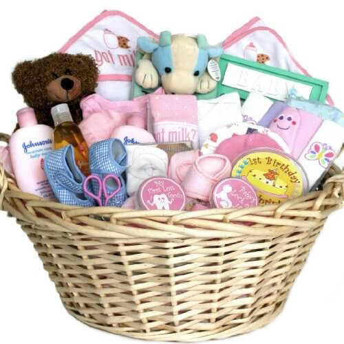 Best ideas about Baby Girl Gift Basket Ideas . Save or Pin Ideas to Make Baby Shower Gift Basket Now.