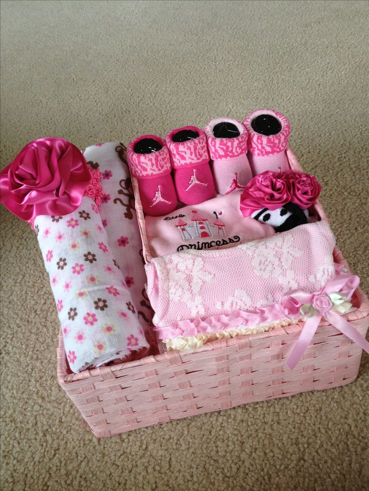 Best ideas about Baby Girl Gift Ideas . Save or Pin 1000 ideas about Baby Gift Baskets on Pinterest Now.