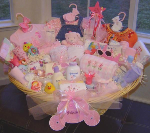 Best ideas about Baby Girl Gift Ideas . Save or Pin Gift Basket baby ideas Now.