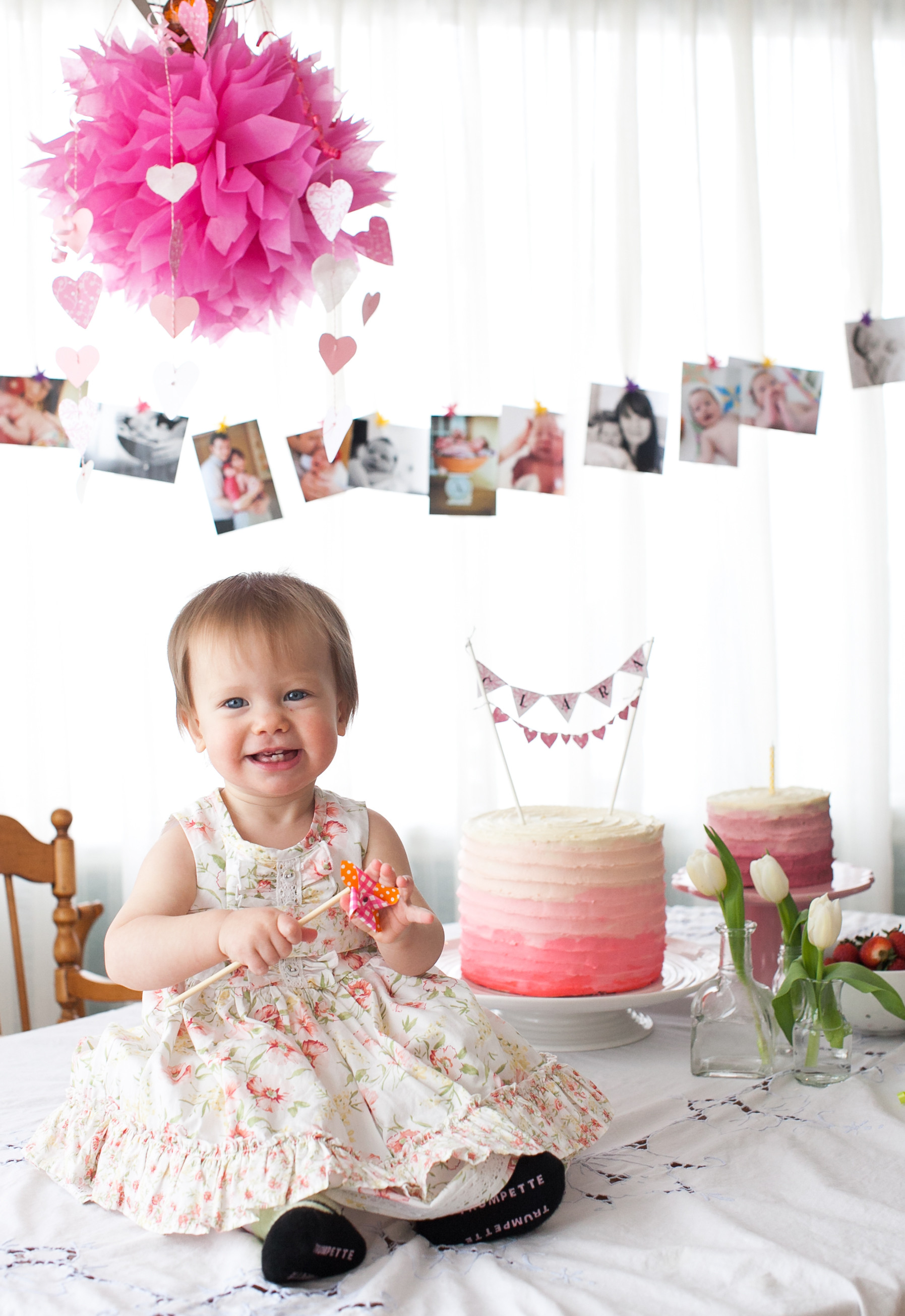 Best ideas about Baby Girls First Birthday Decorations . Save or Pin First birthday party ideas recipe Apple Spice Cake with Now.