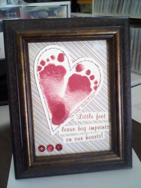 Best ideas about Baby Handprint Gift Ideas . Save or Pin 20 Handprint and Footprint Crafts for Mother s Day Now.