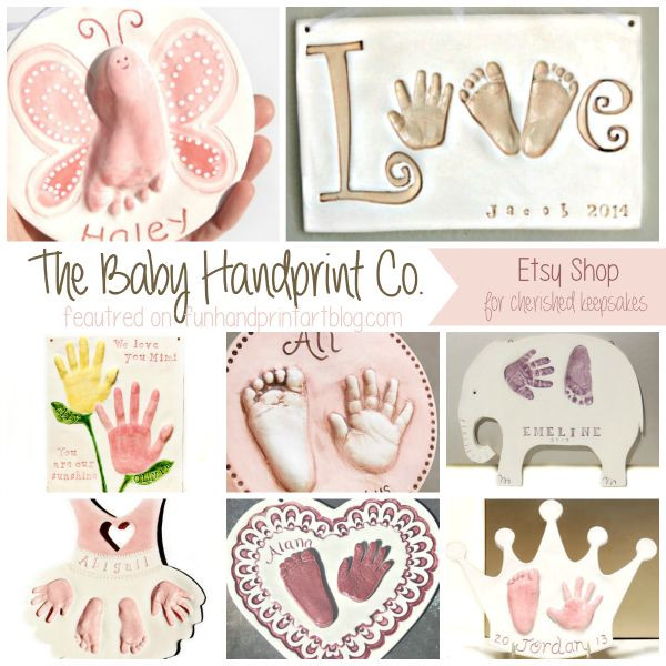 Best ideas about Baby Handprint Gift Ideas . Save or Pin 75 best images about 3d pop out handprints on Pinterest Now.