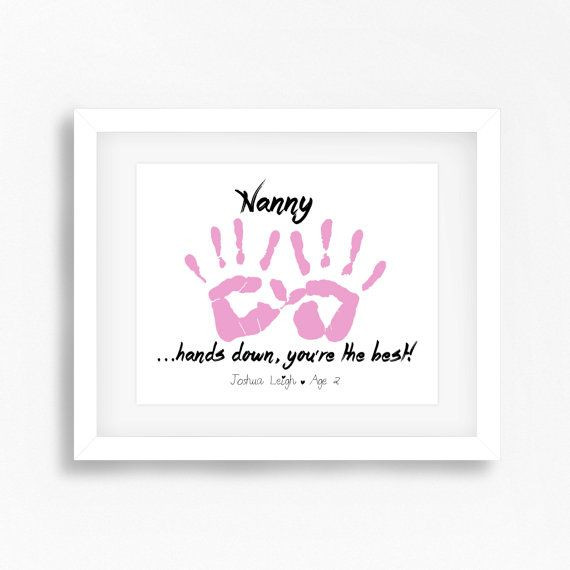 Best ideas about Baby Handprint Gift Ideas . Save or Pin 12 best Baby Handprint Art images on Pinterest Now.