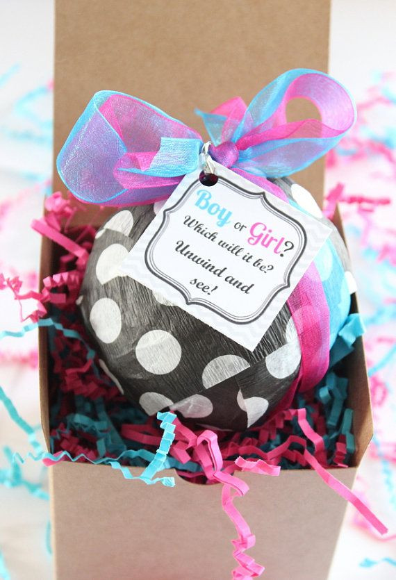 Best ideas about Baby Reveal Gift Ideas . Save or Pin Gender reveal surprise t ball send a t gender reveal Now.