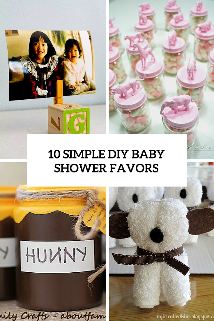 Best ideas about Baby Shower DIY . Save or Pin 10 Simple And Quick To Make DIY Baby Shower Favors Now.