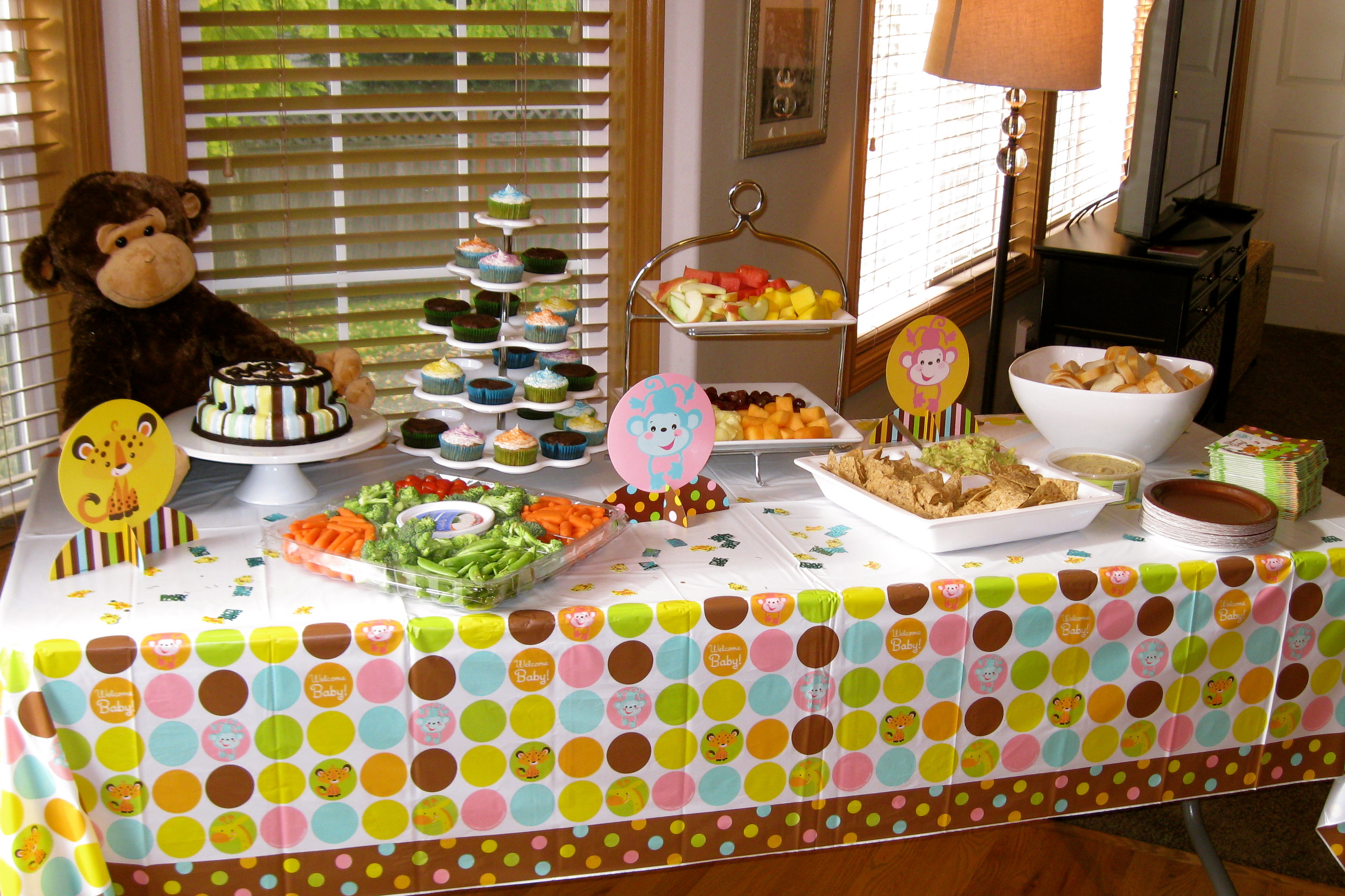Best ideas about Baby Shower Food Table . Save or Pin Baby Shower Now.